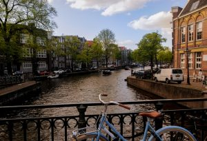 stad fietsen